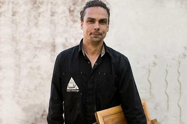 Andreas Svane instruktør i grøn sløjd