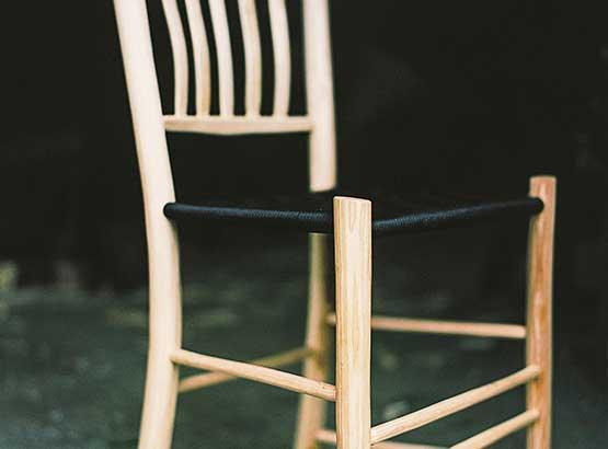 Green wood work stol