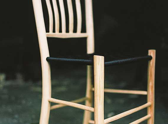 Lær at lave en stol i grøn sløjd